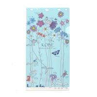 チケットクリアファイル(神戸 六甲山の野花)