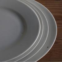 Porcelaine de Paris (パリ窯)白オーバル皿