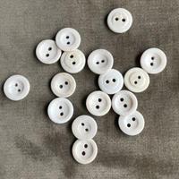 ホーンボタン15mm (角ボタン) 16個