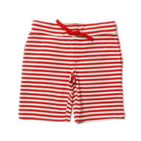 Little Green Radicals Red Stripe Beach Shorts 98/ 104/ 110/ 116/ 122cm