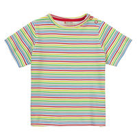 Piccalilly Rainbow Stripe Tシャツ 110/ 116cm