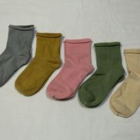 『くすみ色』Socks 5足セット 16-18/ 18-22cm