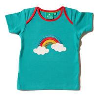 Little Green Radicals 『虹の向こう』 アップリケTシャツ 86/ 92/ 98/ 104cm