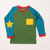 Little Green Radicals グリーンスターTシャツ 92/ 98/ 104/ 110/ 116/ 122/ 128cm