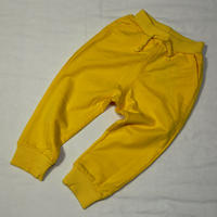Vivid Colored スウェットパンツ Jersey Pants Yellow 90/ 100cm