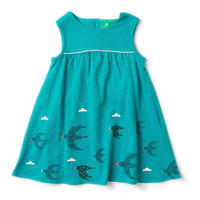 Little Green Radicals Flying South Story Time Dress 98/ 104/ 110cm