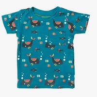 Little Green Radicals 海の世界 Tシャツ 92/ 98/ 104/ 110/ 116/ 122/ 128cm
