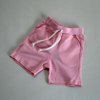 スウェットショートパンツ Jeysey Shorts Pink 90~ 120cm