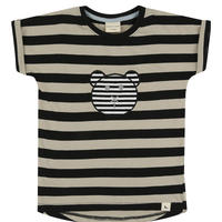Turtledove London STRIPE APPLIQUE T 92/ 98/ 104/ 116cm ※残り92cmのみ