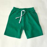 スウェットショートパンツ Jersey Shorts Green 90~150cm