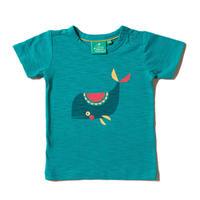 Little Green Radicals クジラ「素晴らしいひと時」 Tシャツ 86/ 92/ 98/ 104/ 110/ 116/ 122/ 128cm