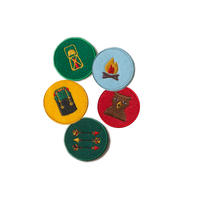 Little Green Radicals Explorer Badges 5pc Set