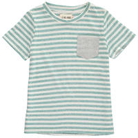 Me & Henry ストライプポケット Tシャツ Green 98/ 104/ 110/ 116/ 122/ 128/ 134/ 140cm