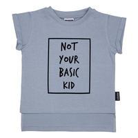 Cribstar Nnot Your Basic Kid T ブルー 80/ 92/ 98/ 104/ 110/ 116/ 122/ 128cm