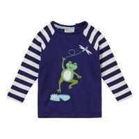 Piccalilly Frog Raglan Tshirt 80/ 86/ 92/ 98/ 104/ 110/ 116cm