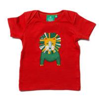 Little Green Radicals Leo Lion Applique Top 92cm/ 98cm