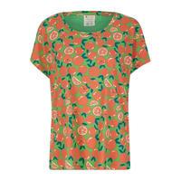 Piccalilly レディース オレンジTシャツ 大人サイズ S/ M