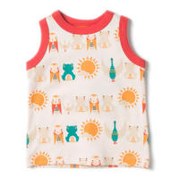 Little Green Radicals River Friends Sunshine Vest 98cm/ 110cm
