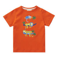 Piccalilly Safari Orange Tシャツ 80/ 86/ 92/ 98cm