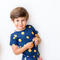 A Raposa E O Elefante Tシャツ『YELLOW BALL』12-18mos/ 18-24mos