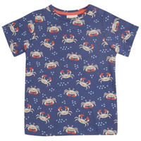 Piccalilly Ocean Crab カニ Tシャツ 80/ 86/ 92/ 98/ 104/ 110/ 116cm