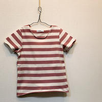 Candy Color ストライプTシャツ Pink 80cm/ 100cm/ 110cm/ 120cm/ 140cm