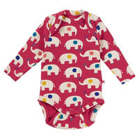 Piccalilly Elephant Rompers 68/ 80/ 86/ 92cm