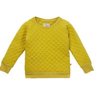 Piccalilly Mustard Quilted Sweatshirt 122/ 128/ 134/ 140cm