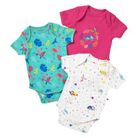 Piccalilly Tropical Baby BODY 3枚セット 80/ 86/ 92cm