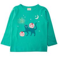 Piccalilly 長袖Tシャツ マジカルキャット 98/104/110/116/122/128cm