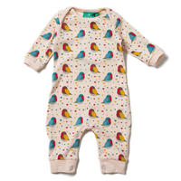 Little Green Radicals Rainbow Robins Playsuit 80/ 86cm