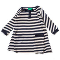 Little Green Radicals Navy Stripes Dress 104/ 110/ 116/ 122cm