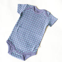 HUGABUG Organic Cotton Polka Dot Body Navy 70/ 80cm