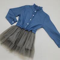 デニムドレス Denim Dress 90/ 100cm