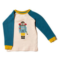 Little Green Radicals Climb The Mountain Raglan T 98/ 104/ 110/ 116/ 122/ 128cm