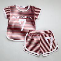 『7』Pajama Red 110cm/ 120cm/ 140cm