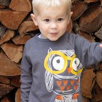Piccalilly Owl Tshirt 98/ 104/ 110/ 116/ 122/ 128/ 134/ 140cm