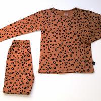 Leopard Pajama Brown 120~140cm