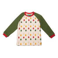Little Green Radicals オータムツリーTシャツ 92/ 98/ 104/ 110/ 116/ 122/ 128cm