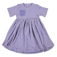 HUGABUG Organic Cotton Dress Blue 98/ 104cm