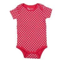 HUGABUG Organic Cotton Polka Dot Body Red 70/ 80cm