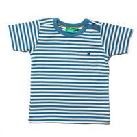 Little Green Radicals オーシャンブルーストライプTシャツ 98/ 104/ 110/ 116/ 122/ 128cm