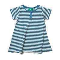 Little Green Radicals Playaway Dress Blue 98cm/ 104cm/ 110cm/ 116cm/ 122cm