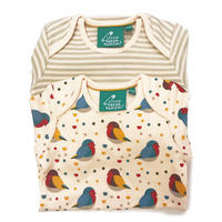 Little Green Radicals Rainbow Robins Body 2枚Set 9-12m(80cm)