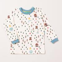Little Green Radicals ウッド長袖Tシャツ 92/ 98/ 104/ 110/ 116/ 122/ 128cm