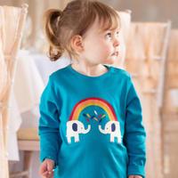 Piccalilly Elephant Tshirt 86/ 92/ 98/ 104/ 110/ 116cm
