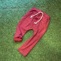 コットン ハーレム・パンツ Red 100cm/ 110cm/ 120cm/ 130cm