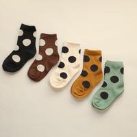 水玉 Socks 5足セット 15-18/ 18-20/ 20-22cm