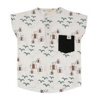 Turtledove London Birds+Bees トリさんとハチさん シャツ 80/ 92/  98/ 104/ 110/ 116cm