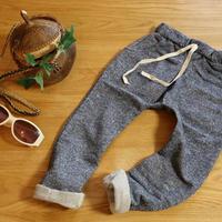 スウェットハーレムパンツ Jersey Harem Pants グレー 90~130cm